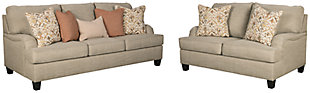 Almanza Sofa and Loveseat, , large
