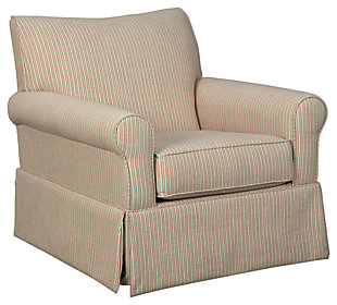 Almanza Swivel Glider Accent Chair, , large