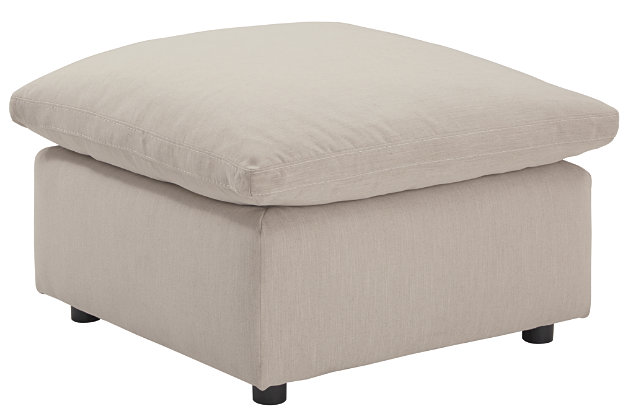 Savesto Oversized Ottoman, , large
