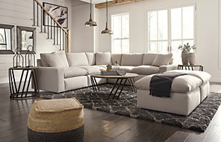 Savesto 5-Piece Sectional with Ottoman, , large