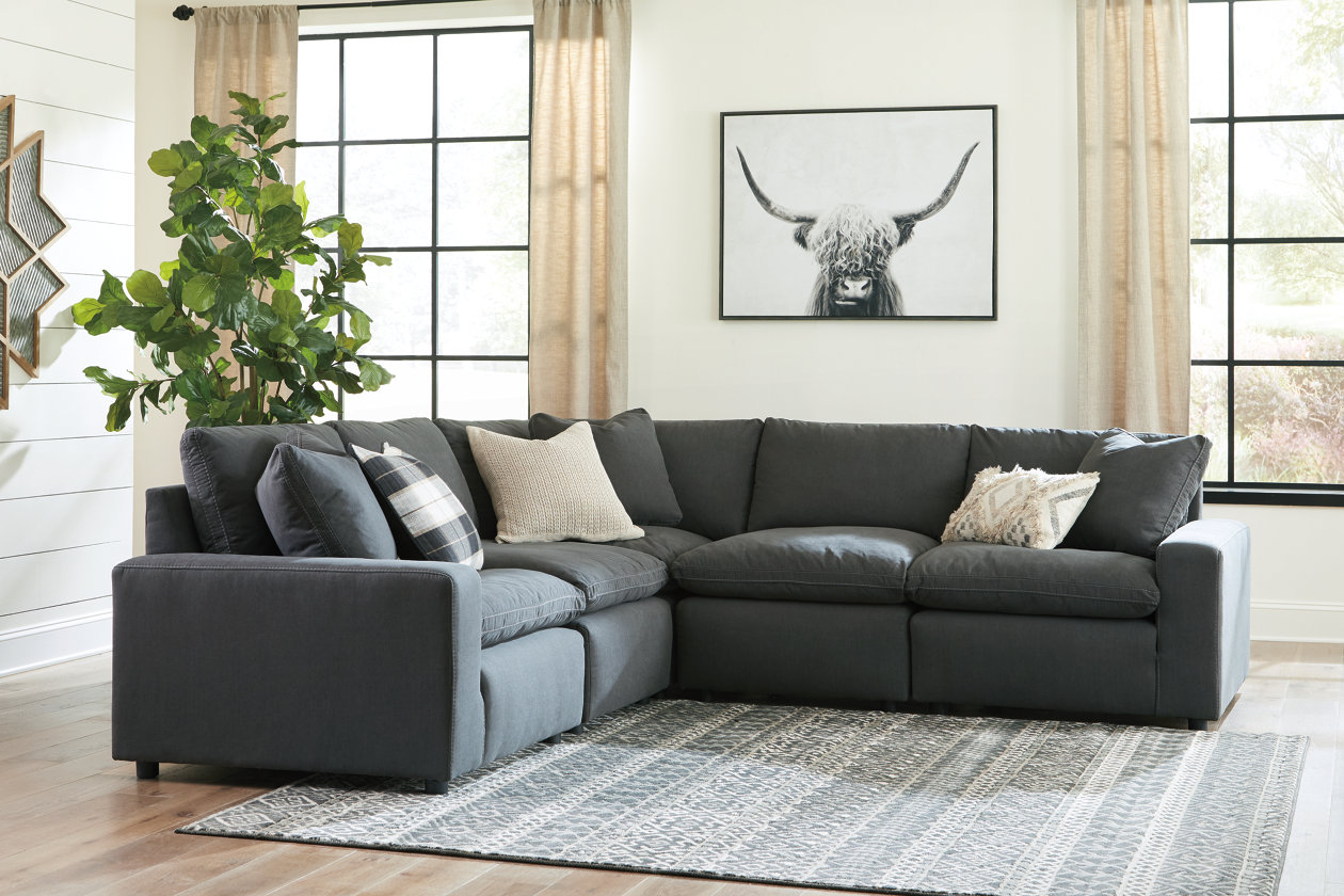 Amazing Savesto 5 Piece Sectional Ashley Furniture Homestore Caraccident5 Cool Chair Designs And Ideas Caraccident5Info