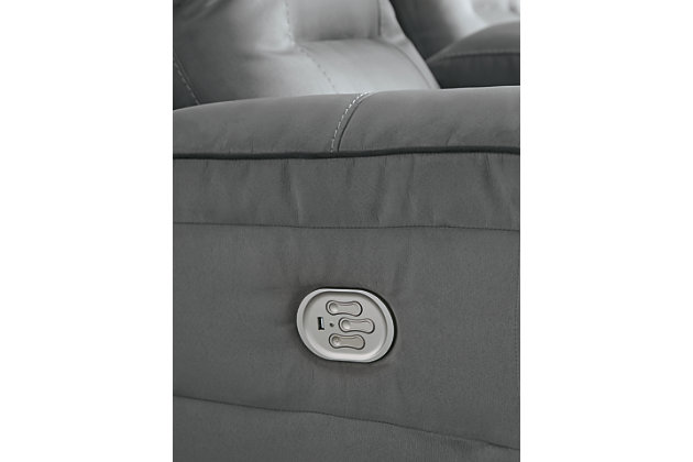 Trampton Power Reclining Sofa, , large