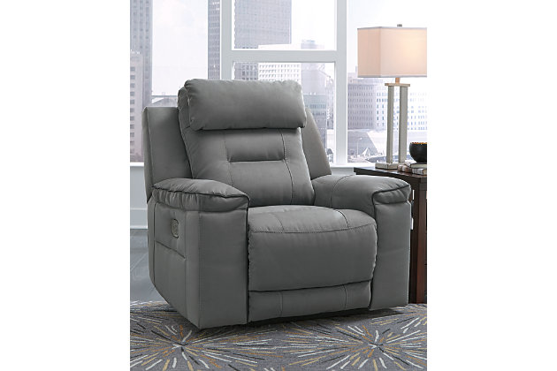 Trampton Power Recliner, , large