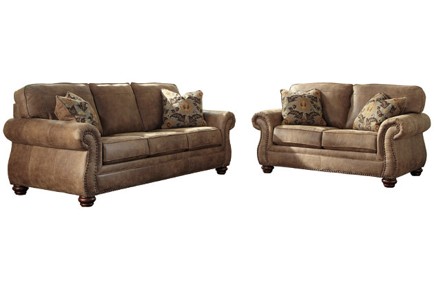 Larkinhurst Sofa and Loveseat, , large