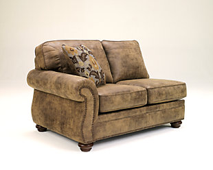 Larkinhurst Left-Arm Facing Loveseat, , large