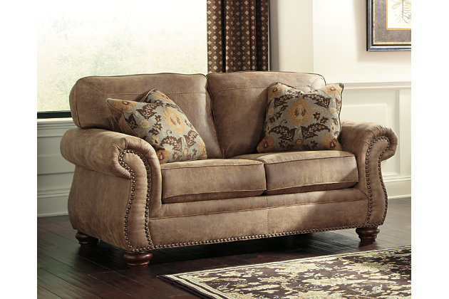 larkinhurst loveseat ashley furniture homestore. Black Bedroom Furniture Sets. Home Design Ideas