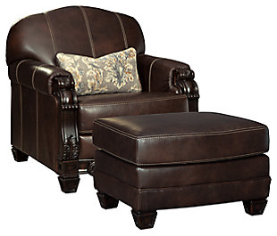 Embrook Chair and Ottoman, , large