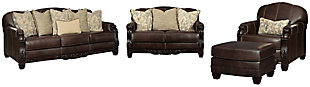 Embrook Sofa, Loveseat, Chair and Ottoman, , large