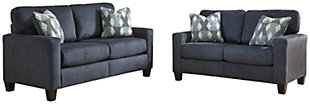 Burgos Sofa and Loveseat Set, , large