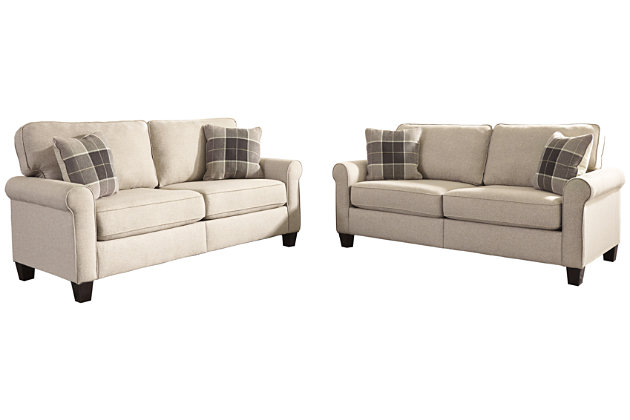 Lingen Sofa and Loveseat Set, , large