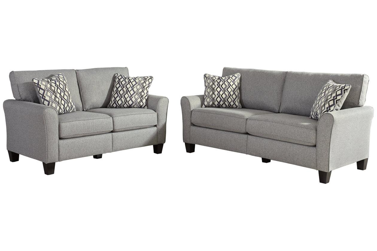 Outstanding Strehela Sofa And Loveseat Set Ashley Furniture Homestore Creativecarmelina Interior Chair Design Creativecarmelinacom