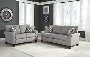 Large Strehela Sofa And Loveseat Set Rollover