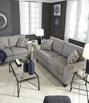 Strehela Sofa and Loveseat Set, , large
