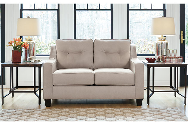 Karis Loveseat, Pebble, large