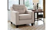 Karis Chair, Pebble, rollover
