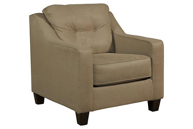 Karis Chair, Mocha, large