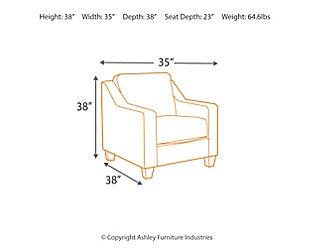 Karis Chair, Pacific, large