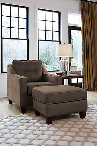 Karis Chair, Walnut, large