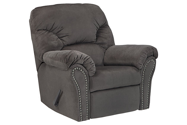 Kinlock Recliner, Charcoal, large