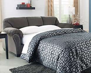 Kinlock Full Sofa Sleeper, Charcoal, large