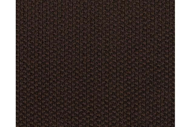 Kinlock Series Chocolate Brown Fabric Swatch