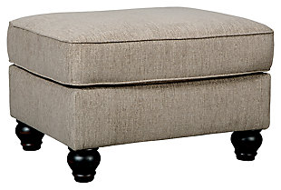Blackwood Ottoman, , large