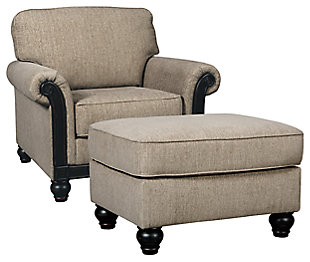 Blackwood Chair and Ottoman, , large