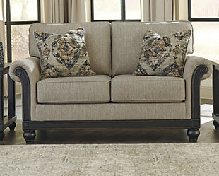 living room furniture for small spaces. Blackwood Loveseat  large rollover Small Spaces Ashley Furniture HomeStore