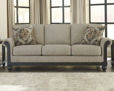 Ashley Blackwood Queen Sofa Sleeper, Taupe