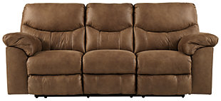 Boxberg Power Reclining Sofa, Bark, large