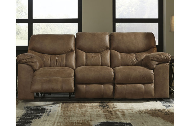 Boxberg Reclining Sofa, Bark, large