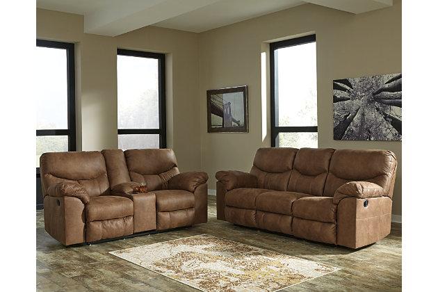 Boxberg Sofa and Loveseat, Bark, large