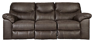 Boxberg Power Reclining Sofa, Teak, large