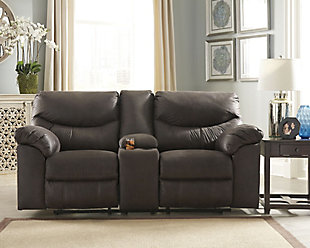 Boxberg Reclining Loveseat with Console, , rollover