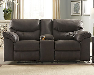 Boxberg Power Reclining Loveseat with Console, , rollover