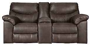 Boxberg Power Reclining Loveseat with Console, , large