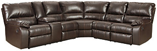 Warstein 3-Piece Reclining Sectional, , large