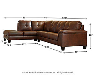 Goldstone 2-Piece Sectional, , large