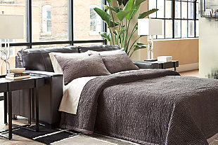 Morelos Queen Sofa Sleeper, Gray, large