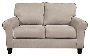 Aldy Loveseat, Pebble, large