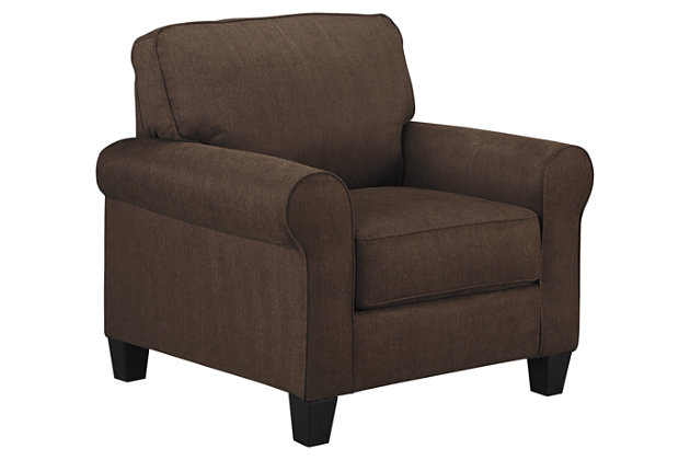 Aldy Chair, Walnut, large