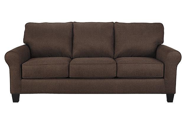 Aldy Sofa, Walnut, large