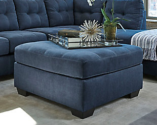 ... Large Pitkin Oversized Ottoman, , Rollover