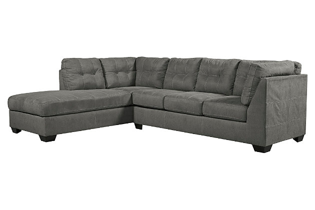Pitkin 2-Piece Sectional with Ottoman, , large