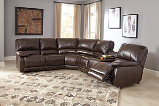 Hallettsville 4-Piece Sectional with Power, , rollover