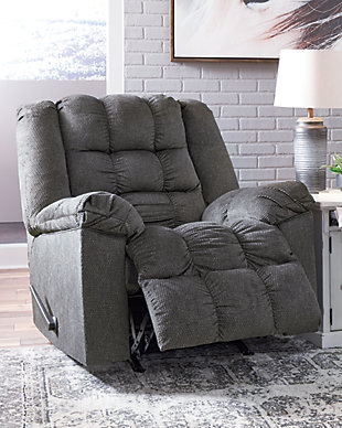 Drakestone Recliner, Charcoal, rollover