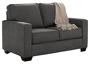 Zeb Twin Sofa Sleeper, Charcoal, large