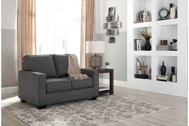 Zeb Twin Sofa Sleeper Charcoal large ... & Zeb Twin Sofa Sleeper | Ashley Furniture HomeStore