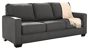 Zeb Queen Sofa Sleeper, Charcoal, large