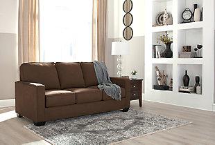 Zeb Full Sofa Sleeper, Espresso, large